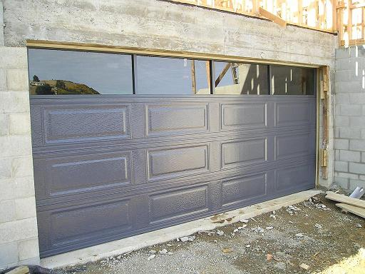 Roller Door Mounted on the Outside with Cover and Motor